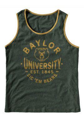 #Baylor tank. #SicEm: Baylor Tank, Baylor Apparel, Baylor Misc, Baylor Stuff, Game Days, Sic In Bears, Baylor Bound, Baylor Game