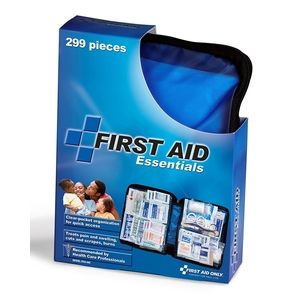 First Aid Only 通用急救包 拉链软包 299件式 特价 $11.69 - https://www.168168.com/seller/first-aid-only-all-purpose-first-aid-kit-soft-case-with-zipper-299-piece-kit-large-blue/