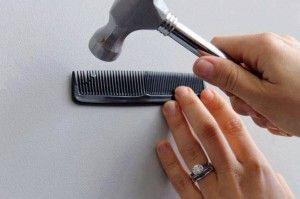 Come fissare un chiodo al muro