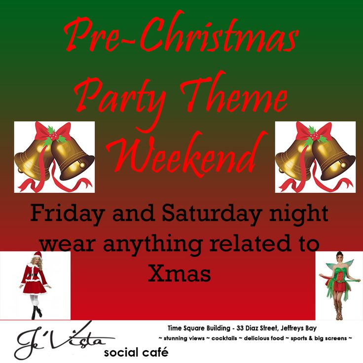 Pre Chistmas themed party 2013. Lets see Santa come out to play. #themes #christmas