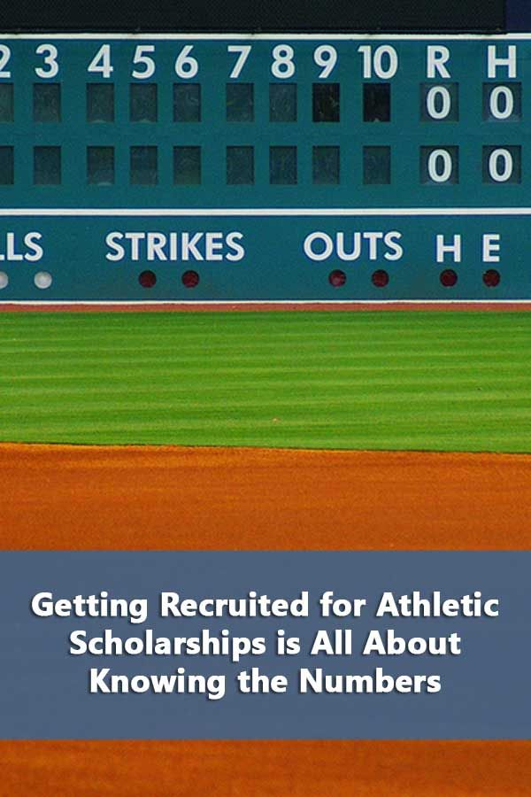 Getting Recruited For Athletic Scholarships Is All About Knowing The Numbers Athletic Scholarships Scholarships Scholarships For College