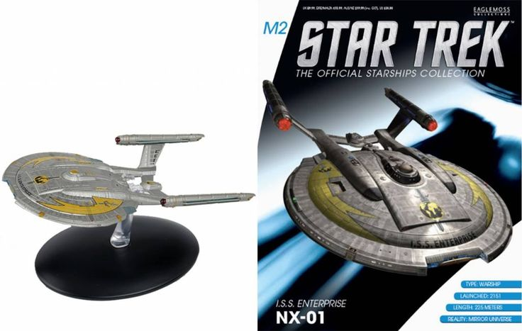 Star Trek Official Starships Collection Magazine with Model Special #7