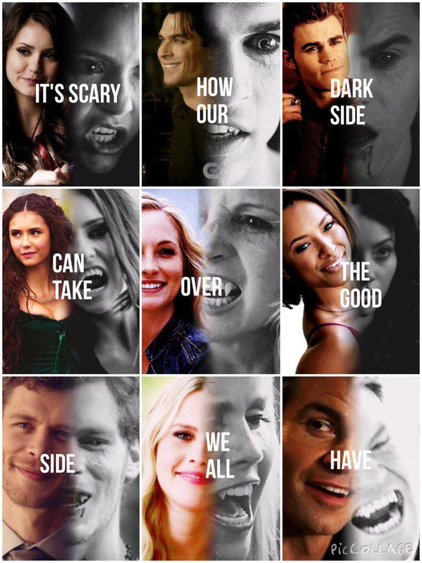 I love how it's all vampires.... Then there's Bonnie...