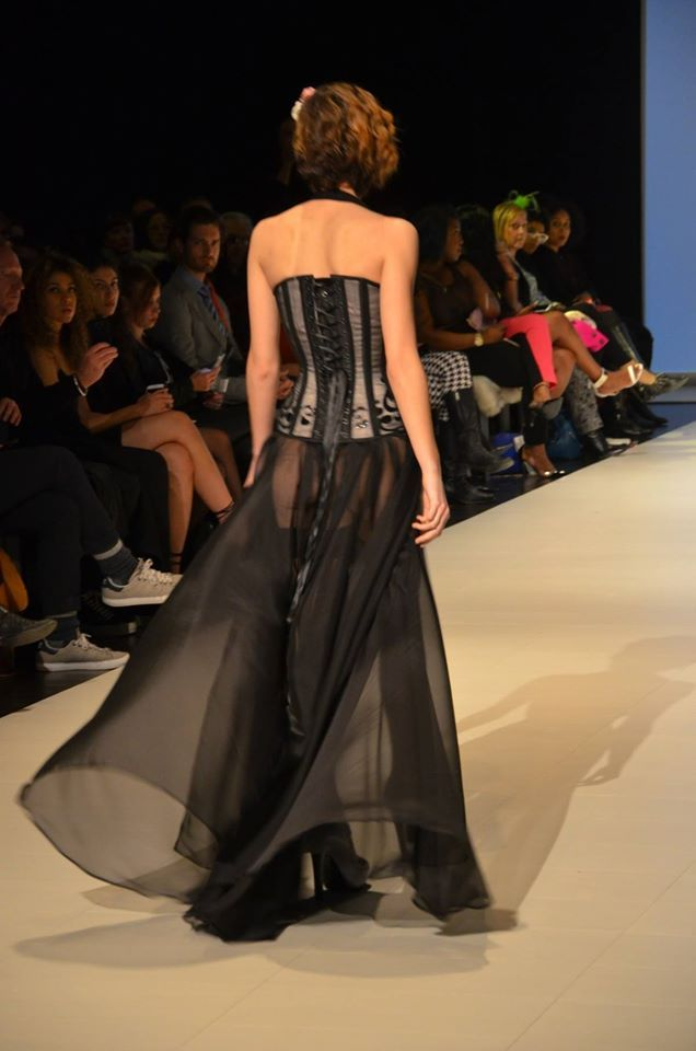 | FAT | Fashion Art Toronto, Fashion Week - FW16 Runway presentation by designer: Dianna Di Noble / Starkers Corsetry