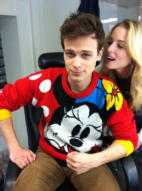 why hello sexy! lookin hot even in a minnie mouse sweater