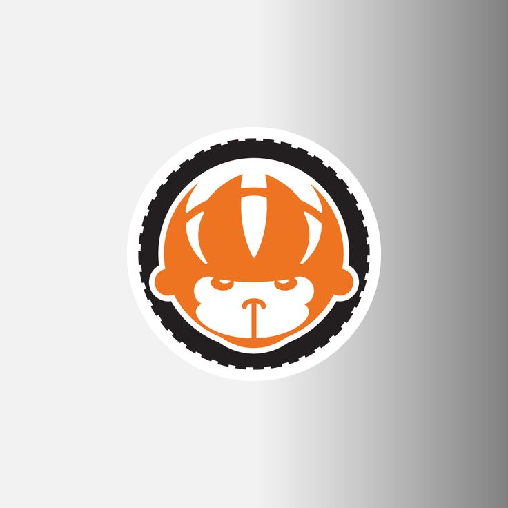 """Spider Monkey Cycling 1.5"""" Logo Decal"""