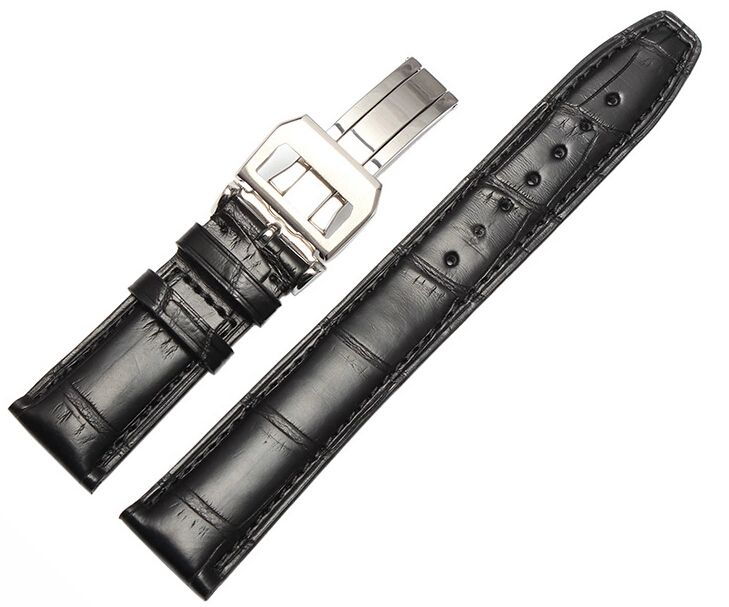 Like and Share if you want this  New Brand Watchband 20mm 22mm New Men Top Grade Black Cowhide Genuine Leather Watch Band Strap Bracelets   Tag a friend who would love this!   FREE Shipping Worldwide   Buy one here---> https://shoppingafter.com/products/new-brand-watchband-20mm-22mm-new-men-top-grade-black-cowhide-genuine-leather-watch-band-strap-bracelets/