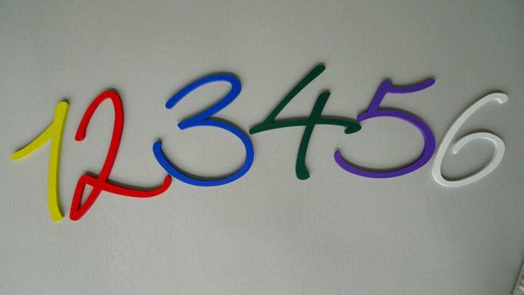 Holzbuchstaben hausnummer diy kreativ set von for Holzbuchstaben babyzimmer