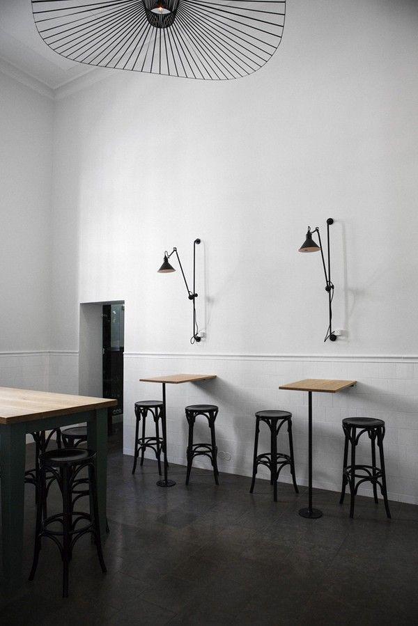 Bar& Co, Helsinki: Thonet BST 75 Barstools