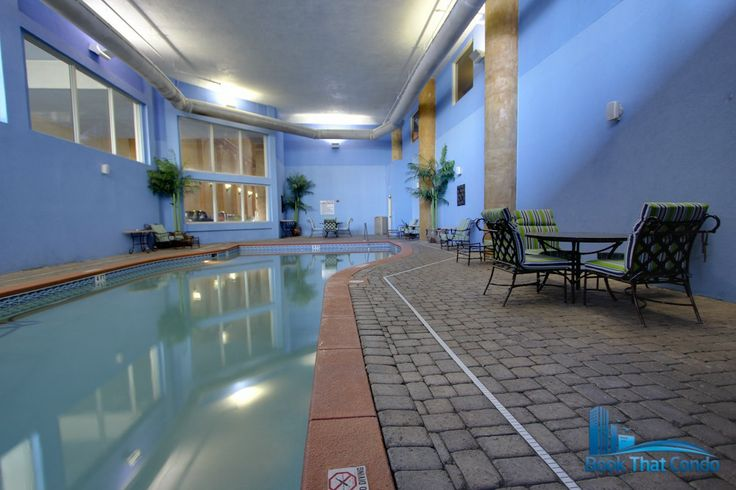 Indoor pool and hot tub at shores of panama vacation condo - Two bedroom condo panama city beach ...