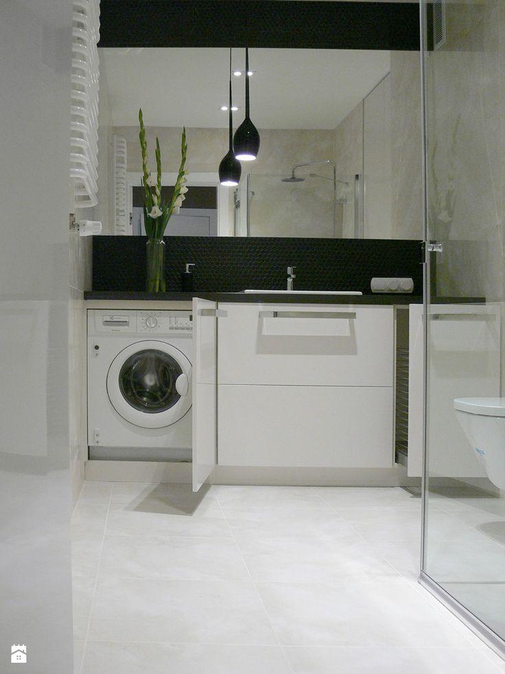 Aranżacje wnętrz - Łazienka: apartament do wynajęcia - Mała łazienka, styl…