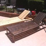 DIY lounge chairs