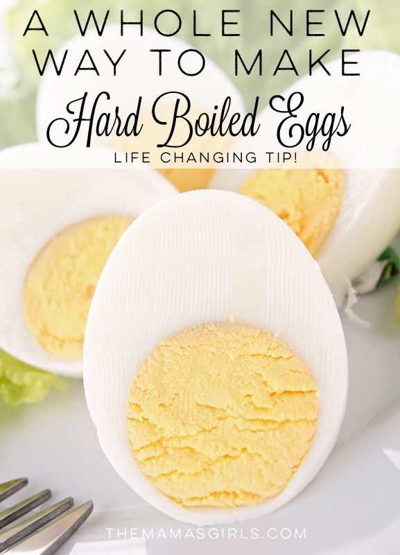 Stop making eggs the old fashioned way! Try this whole new way to make hard boiled eggs. If you make them frequently, this new tip will change your world! #howto #eggs