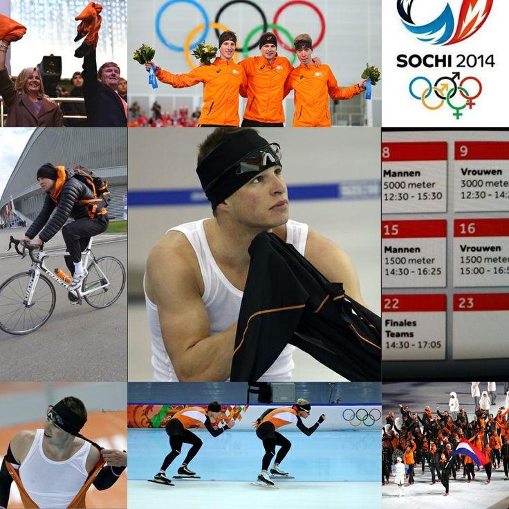 Sochi, Winter Olympics 2014' speed skating netherlands