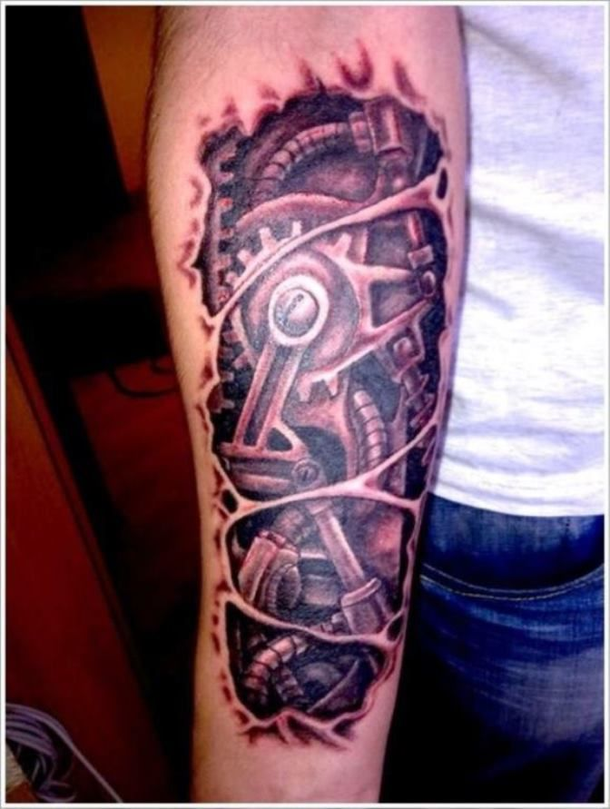 20 Biomechanical Tattoos Biomechanical Tattoo Biomechanical Tattoo Design Mechanic Tattoo