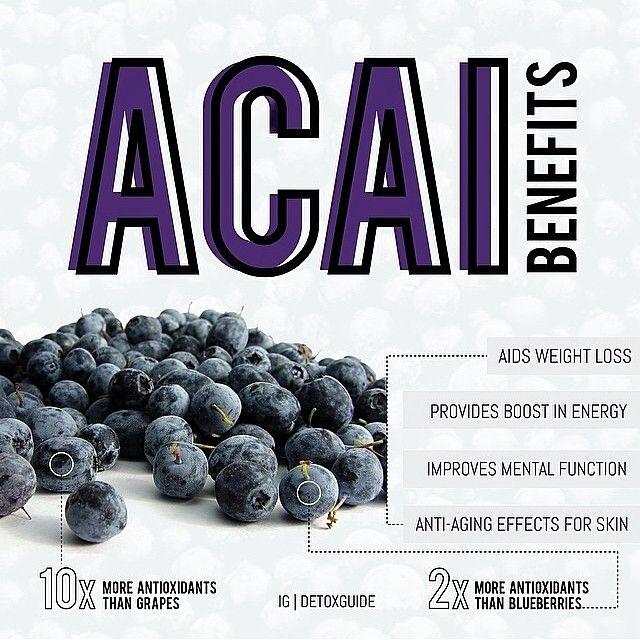 Acai berry benefits #drsmoothie #acai