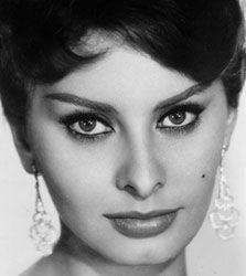 Sophia Loren  http://www.triviatribute.com/images4/sophialoren4a.jpg: Favorite Actor, Sophia Loren, White Photography, Cat Eye, Sofia Loren, Shorts Haircuts, Hair Cut, Hair Style, Sophialoren