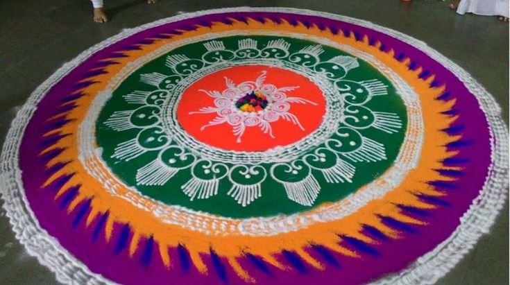 Latest Rangoli Design