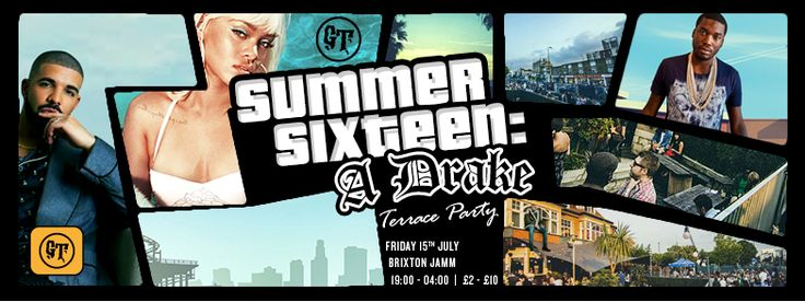 Book Tickets for Gold Teeth: SUMMER 16: A DRAKE TERRACE PARTY at Brixton Jamm, London on Fri 15th Jul 2016 - brought to you by Brixton Jamm.