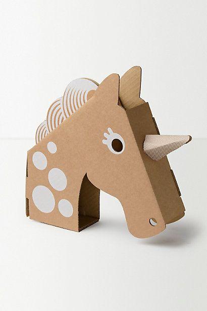 Flatout Frankie Unicorn Head #anthropologie