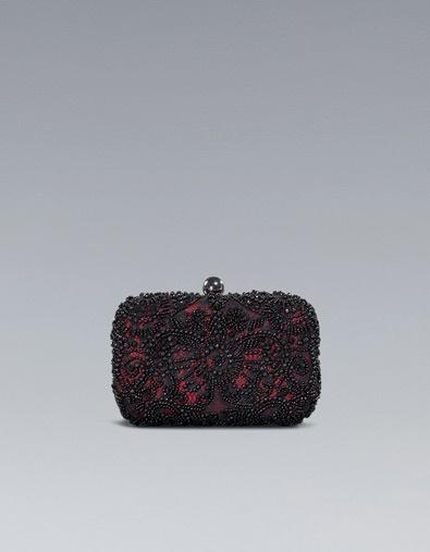 EMBROIDERED PARTY BOX BAG - Handbags - Woman - ZARA Croatia (Hrvatska)