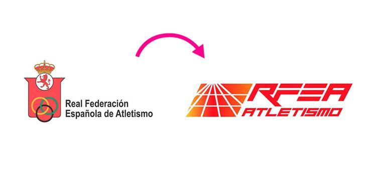 En lo más fffres.co: Un fallido rediseño de imagen para la Real Federación Española de Atletismo: Con un nombre tan grandilocuentea uno le…