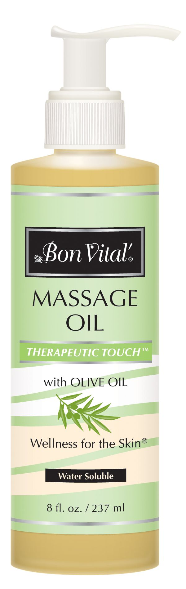 Therapeutic Touch Massage Oil 8 oz | Bon Vital'