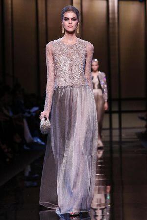 Giorgio Armani Privé Haute Couture Spring Summer 2014 Paris - NOWFASHION