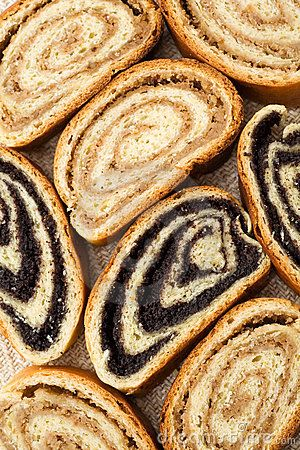poppy seed and nut rolls
