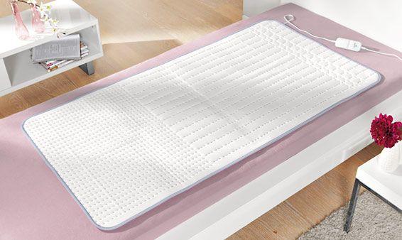 surmatelas chauffant idéal pour bien dormir été comme hiver ( favoris le bien être , et aide pour les douleur) lavable en machine.