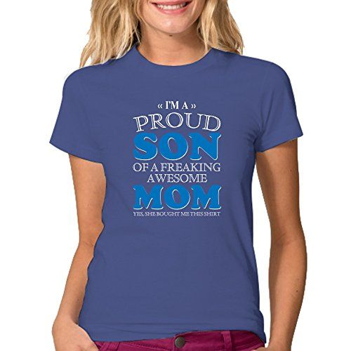 Awesome Mom Shirt - I'm The Proud Son of a Freaking - Col…