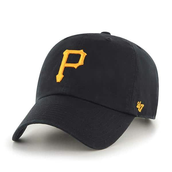ebb1f3c160a7b Pittsburgh Pirates Women s 47 Brand Black Clean Up Adjustable Hat in ...