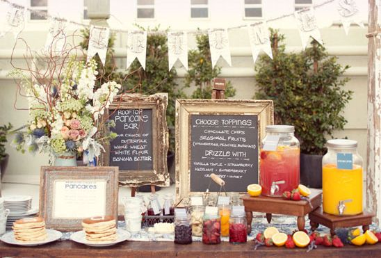 Pancake Bar  fun for a breakfast/brunch party#Repin By:Pinterest++ for iPad#