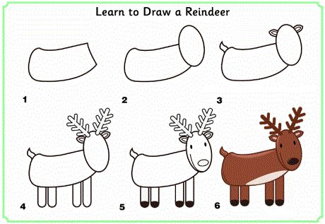 learn_to_draw_a_reindeer  http://www.activityvillage.co.uk/learn_to_draw_animals.htm
