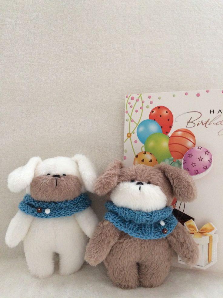 #DOG #TEXTILE TOYS #TEDDY FRIENDS #TOYS# Toy puppy#Hobby-time#toys_gallery