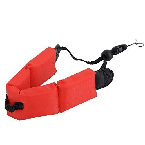 Sonimart Red Waterproof Camera Float Strap For Underwater Cameras. Works With Olympus Stylus Sw, Gopro, Hero3, Panasonic Lumix, Nikon Coolpix Aw110, Canon Powershot D20, Fujifilm Finepix. Keep Your Device From Sinking. Oehha Prop 65 Approved!, 2015 Amazon Top Rated Bags & Cases #Photography