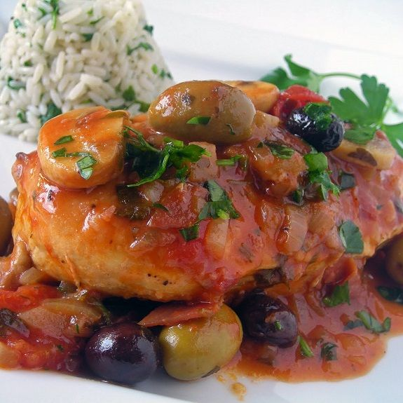 Chicken Marengo Recipe