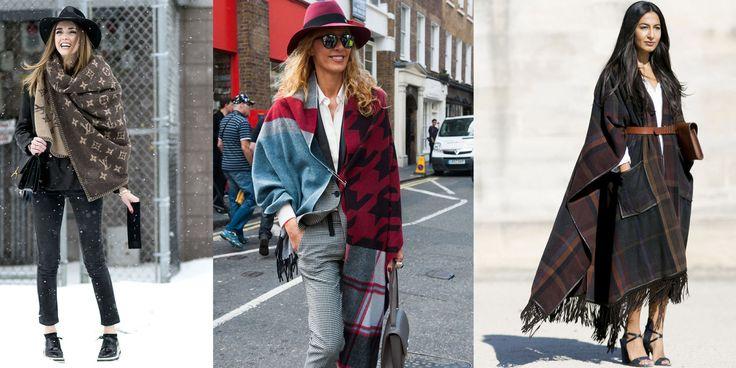 Come uno scialle, una sciarpa e una mantella possono fare la differenza sui tuoi look invernali -cosmopolitan.it