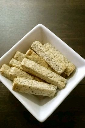ヘルシー☆豆腐クッキー Healthy Tofu Cookies