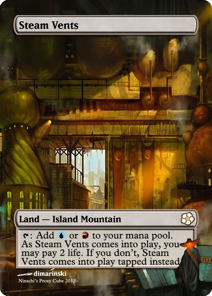 Magic The Gathering Steam Vents Proxy