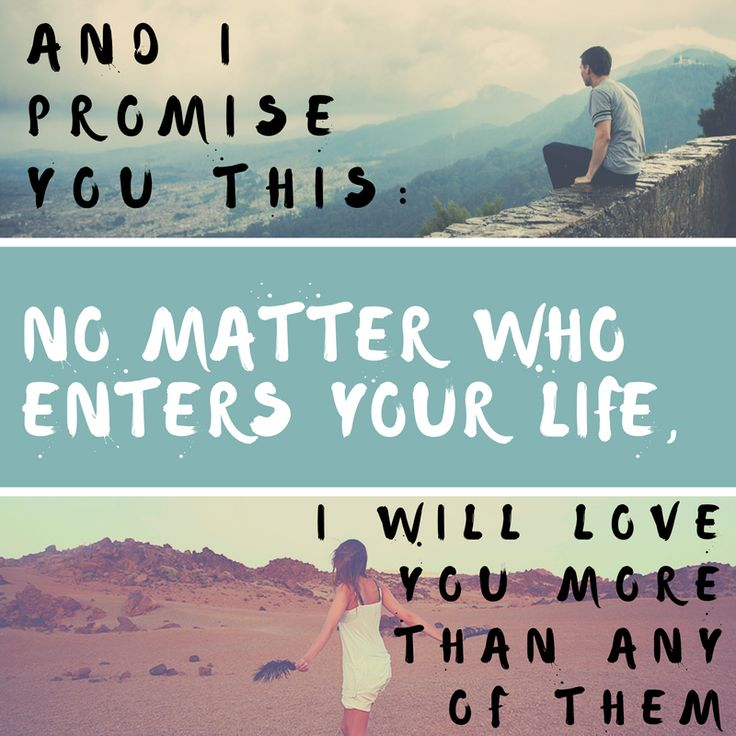 I Love You More Than Life Quotes: Best 25+ Love Promise Quotes Ideas On Pinterest
