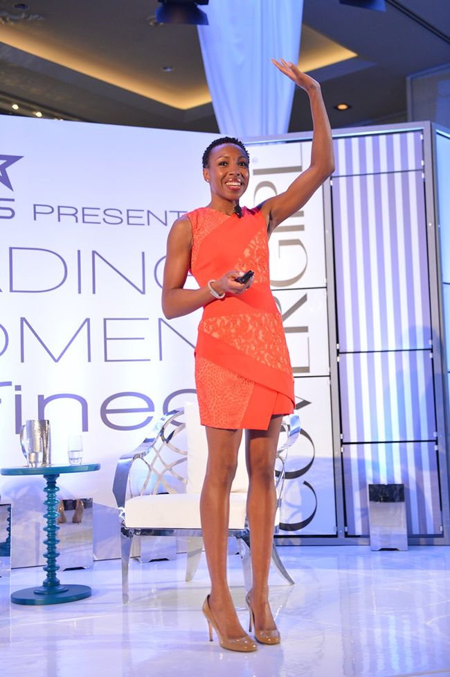 """Tiffany Dufu, Chief Leadership of Levo, dicusses motivation and her """"before + after."""""""
