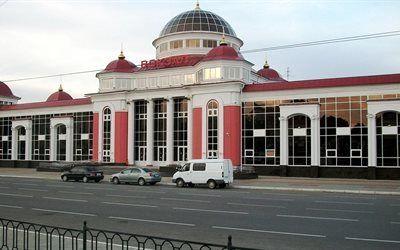 壁紙をダウンロードする 名所, saransk, 電車駅, 建築, 共和国mordovia, ロシア