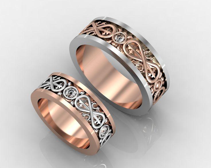 """Обручальные кольца """"Бесконечность"""" #ring #wedding #weddingring #обручальные #кольца #goldelitestudio"""