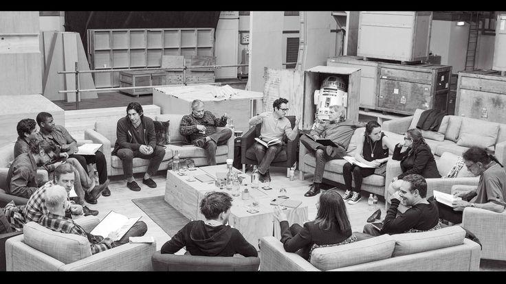 Leitura de Roteiro do elenco Star Wars: Episódio VII - O Despertar da força.