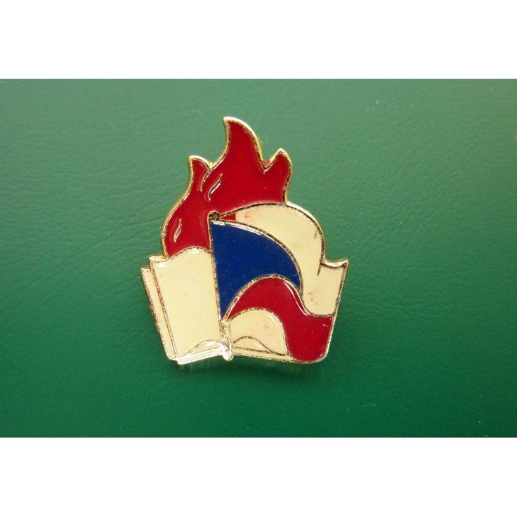 Czechoslovakia - Member Pledge badge PO SSM (pioneer) 1974