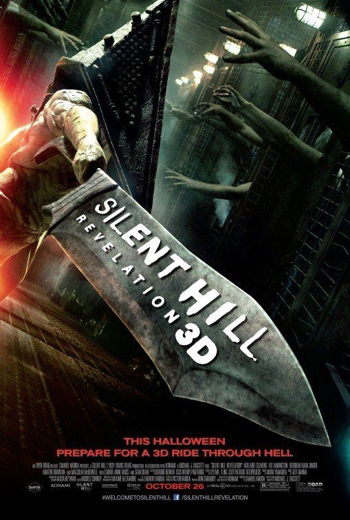 Silent Hill: Revelation 3D~ After 6 years you'd think they would have put more time into a sequel.  That is all.