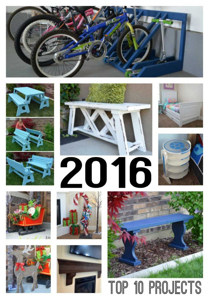 Top Ten Projects of 2016 on Hertoolbelt. It's always fun to look back and see what we've accomplished over the year! Cheers to 2017.
