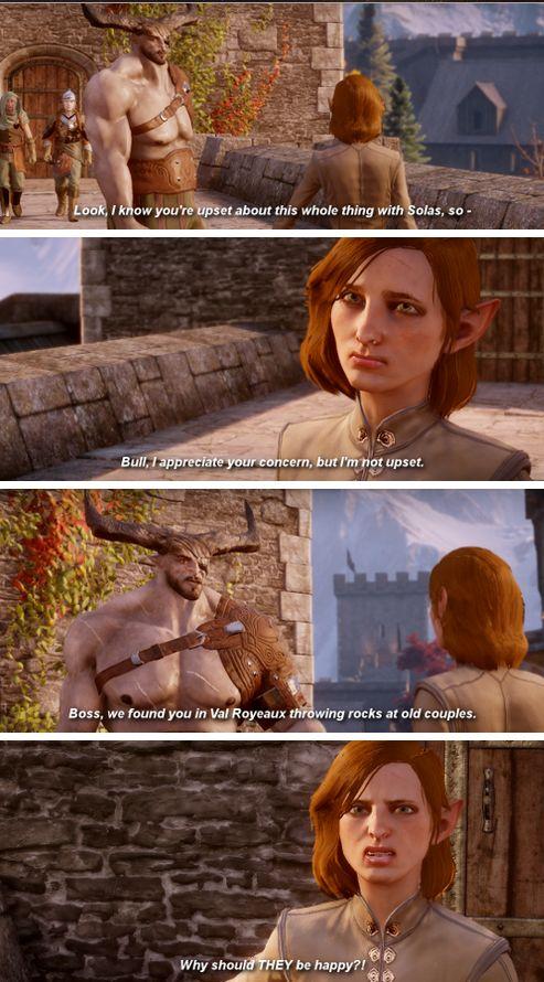 Accurate Post-Game Lavellan