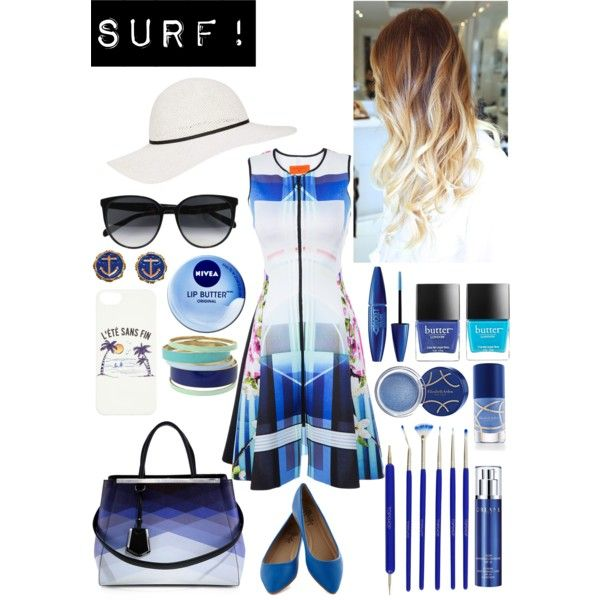 """Surf!"" by michellezee on Polyvore"